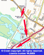 Wroxham Boat Trip Map