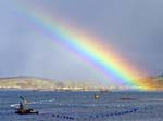 Rainbow Ardgroom Harbour