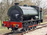 Hunslet Austerity 0-6-0ST WD198 Royal Engineer