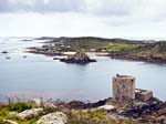 View over Bryher and Cromwell's Castle
