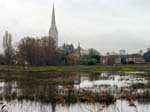 Salisbury Cathedral from Town Path