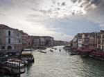 The Grande Canal from the Rialto Bridge