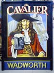 The Cavalier Pub Sign
