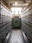 Lockers in the Pithead Baths