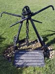 The Hamble River Foreshore Memorial Anchors