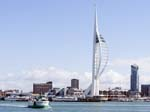 Spinaker Tower from Gosport