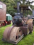The Wallis and Steevens Steam Roller
