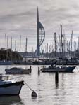 The Spinnaker Tower from Forton Lake