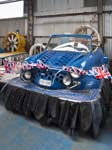Blue Mini Hovercraft