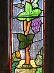 Stained Glass in Chancel of St Nicholas' Church
