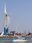The Spinnaker Tower from Gosport