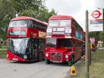 Routemasters LT788 and RM1834, Imber