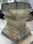 The Font from St Faith's Church