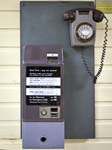 Box Coin Collecting Telephone 700