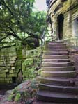 Entrance Steps - Warkworth Hermitage