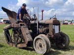 1943 Fordson Standard Tractor fitted with a trencher