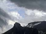 Storm over the Loucherhorn