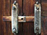 A Wooden Latch