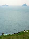 The Skelligs from Bray Head