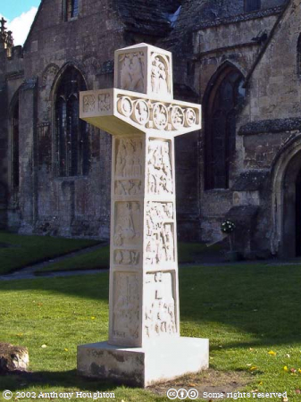 Millenium Cross,Eric Stanford,Devizes,St John's,St Johns Church