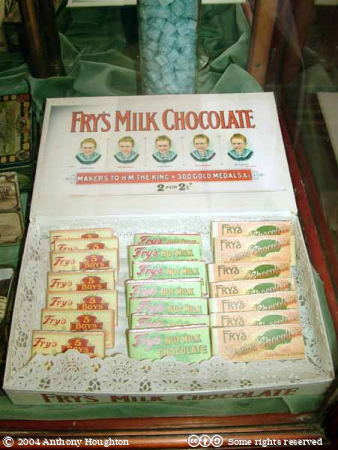 Beamish Museum,Frys Five Boys Chocolate,Sweets,Confectioner