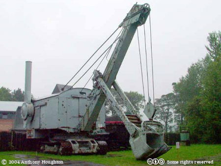 Beamish Museum,Industrial,Vehicle,Steam Shovel
