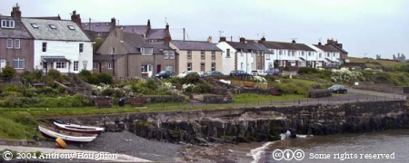 Craster,Dunstanburgh,Houses