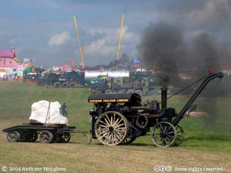 Steam Fair,Traction Engine,Vehicle,Fowler,Road Locomotive,Crane,8920 Great North