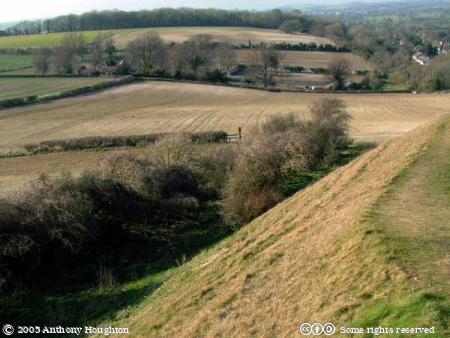 Spetisbury Rings,Iron Age,Hill Fort