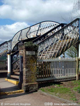 Amberley Station,Railway,Bridge,Footbridge