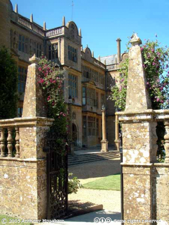 Montacute House,Stately Home