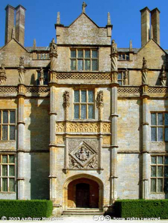 Montacute House,Stately Home,Entrance Front