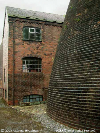 Telford,Ironbridge Gorge,Coalport Pottery,Bottle Kiln