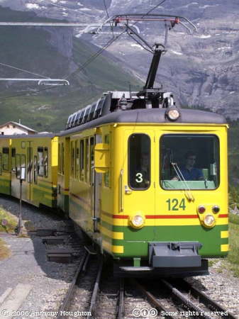 Swiss Railway,Bhan,Train,Rack,Cog,WAB,Wengeneralpbahn,BDhe 4/4 II