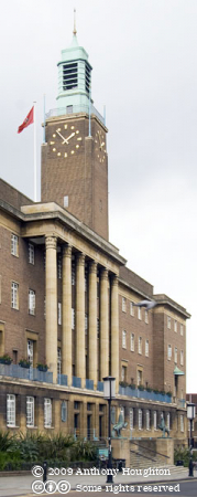 Norwich City Hall,Buildings