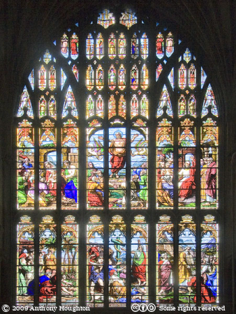 Norwich Cathedral,Church,West Window,Stained Glass