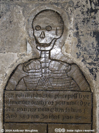 Thomas Gooding,The Skeleton,Norwich Cathedral,Church