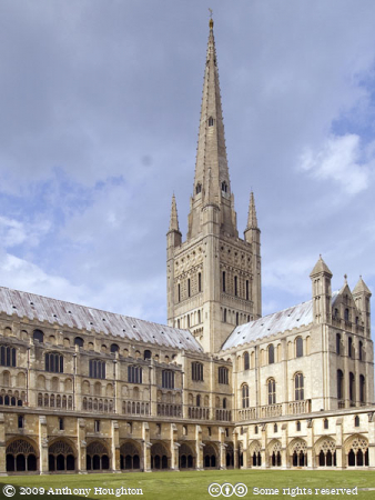 Norwich Cathedral,Church,Cloisters