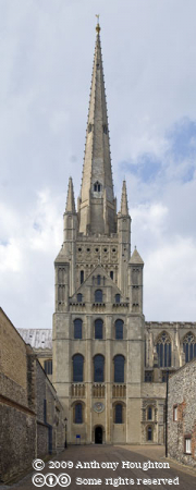 Norwich Cathedral,Church,South Front