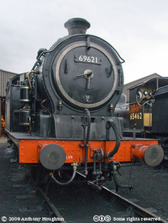 N7 0-6-2T 69621,NNR,North Norfolk Railway,Steam Engine,Locomotive,Heritage