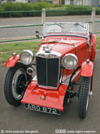 MG TA Midget,ARO872,Car,Automobile