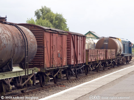 Goods Train,Dereham,MNR,Mid-Norfolk Railway,Heritage