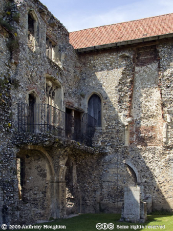 Guest Hall,Castle Acre Priory,Priors Lodging,Prior's Lodging