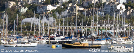 PDR,Paignton and Dartmouth Railway,Heritage,Train,River Dart,Boats,Dartmouth,Kingswear