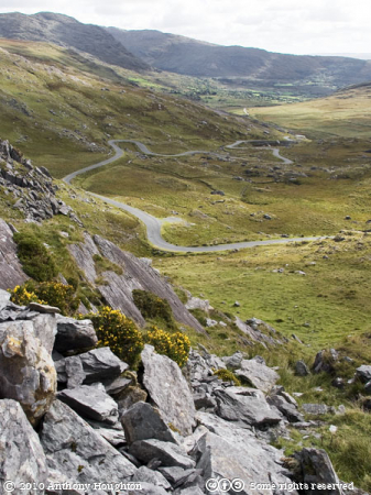 Healy Pass,Road,Rocks,Mountains,Beara Peninsula