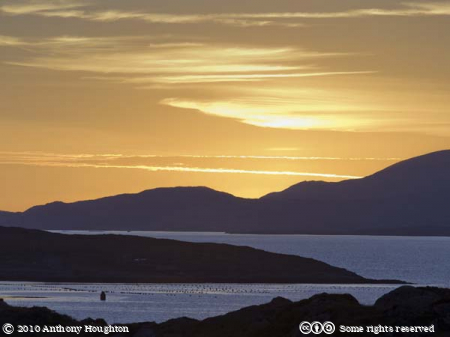 Collarus,Sunset,Sky,Beara Peninsula