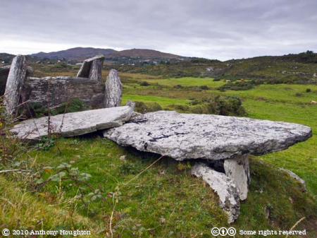 Wedge Tomb,Bere Island,Beara Peninsula,Wedge Grave