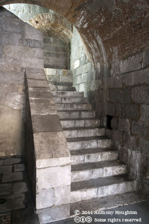 Stairs,King's Bastion