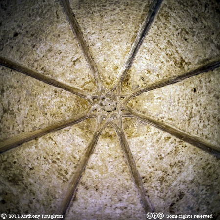 Ceiling,Moorish Castle,Tower of Homage