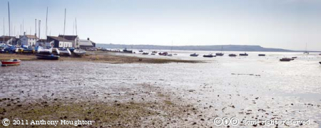 Christchurch Harbour,Boats,Mudeford